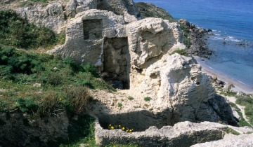 Punic tombs of the southern necropolis.