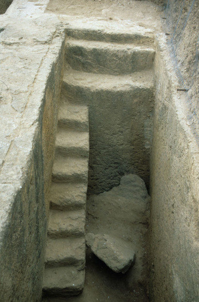Pit of a Punic tomb of the northern necropolis.