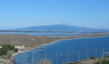 L'area di Mare Morto e di Mistras.