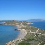 Tharros vista da Capo San Marco.