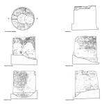 Pianta, sezione e prospetti di Torre Vecchia (da Aa.Vv., Torri costiere della Provincia di Oristano. Storia, immagini e progetti di riuso, s.l. 2002, pp. 28-29).