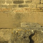 Punic inscription graved on a sandstone block reused in the monumental complex of the temple K.