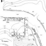 Pianta dell'area artigianale di Su Murru Mannu (da C. Del Vais et alii, Tharros XXIV. Lo scavo del 1997, in Rivista di Studi Fenici, XXV suppl., 1997, fig. 1).