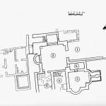 Pianta delle Terme n. 2 (da R. Zucca, Tharros, Oristano 1984, tav. XVII).
