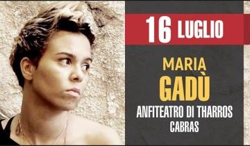 concerto Maria Gadù 16 Luglio 2017 a Tharros